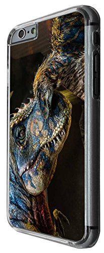 1053 - Cool fun dinosaur art t-rex triceratops stegosaurus spinosaurus (1) Design For iphone 6 6S 4.7'' Fashion Trend CASE Back COVER Plastic&Thin Metal -Clear