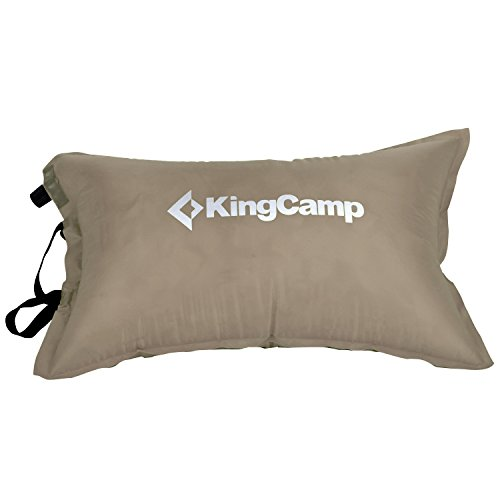 KingCamp Camping Pillow Air Inflating Compressible Ultralight for Outdoor Travel Hiking & Backpacking Use for Head Lumbar Neck Support with Small Stuff Bag