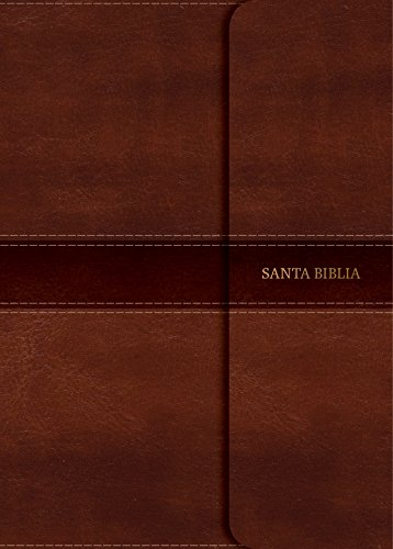 B.e.s.t NVI Biblia Compacta Letra Grande marrón, símil piel con solapa con imán (Spanish Edition)<br />W.O.R.D