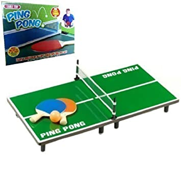 MINI TABLE TOP TENNIS PING PONG GAME CHILDRENS KIDS TOY BAT RACKET BALL NET SET  sc 1 st  Amazon UK & MINI TABLE TOP TENNIS PING PONG GAME CHILDRENS KIDS TOY BAT RACKET ...