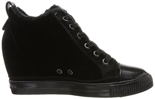 black Mujer Robina Velvet Negro Para Zapatillas Jeans 40 Eu Altas 000 Klein Calvin cFwBzqA0z