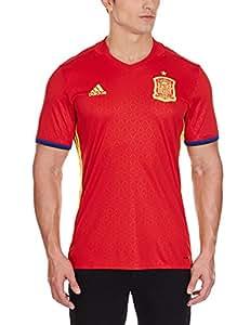 adidas Fef H JSY Camiseta Selección de España 1ª Equipacion 2015-2016, Hombre, Rojo/Amarillo/Azul, 2XL