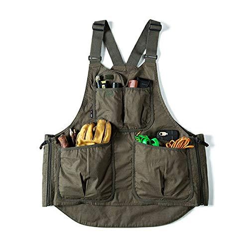 (グリップスワニー)Grip Swany Fireproof Apron Vest Olive GSV-04   B07KF7K6T1