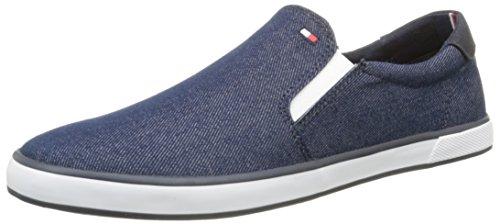 Tommy Hilfiger Harlow 2F, Mocasines para Hombre, Azul (91), 40 EU: Amazon.es: Zapatos y complementos