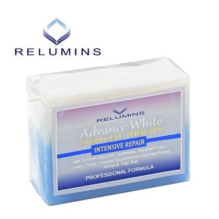 Skin Whitening Lightening Relumins Advance Whitening Soap With Intensive Skin Repair & Stem Cell Therapy ()