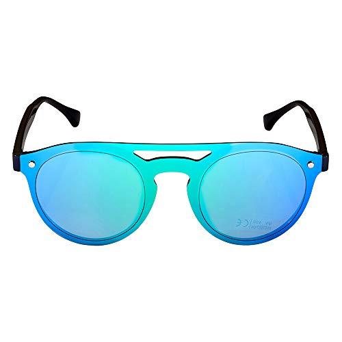 unique soleil Jean Bleu Homme Olivier taille de Claude Ocean Blue Lunettes aqx7BIwS0x