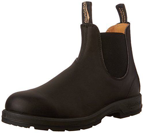 Blundstone Unisex 500 Series Pull-On Boot Black 5.5 M - Watch Dress Dual Tech