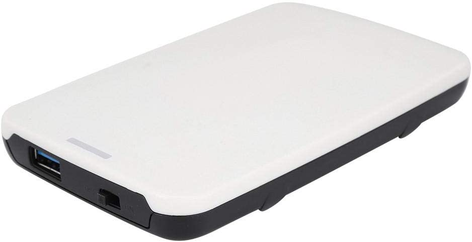 Wendry 2.5 inche External Hard Drive Enclosure Case, USB2.0 Mobile Hard Disk Box Portable External HDD Enclosure Support a 2.5inch SATA - I, SATA-II or SATA-III Hard Disk