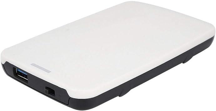 ASHATA Carcasa Disco Duro 2.5, Portátil USB 2.0, Liviana y Simple ...