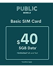 Public Mobile SIM Card for Unlocked Phones (GSM)