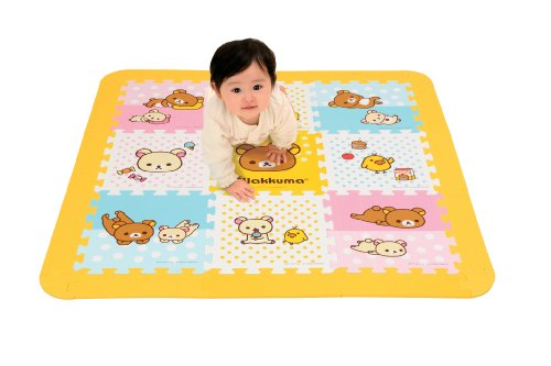Rilakkuma Soft puzzle mat 09-422 (japan import) by Aporo