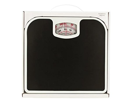 K&A Company Mechanical Bathroom Scale with Non-Skid Surface Case of 6 by K&A Company