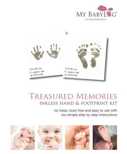 Mybabylog Inkless Wipe Hand And Foot Print Kit Buy