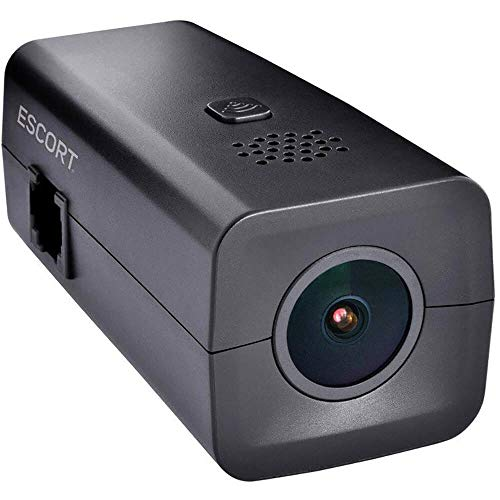ESCORT M1 Dash Cam - Full HD Video, iPhone/Android Compatible, Loop Recording, G-Sensor (Best Call Recording App For Android 2019)