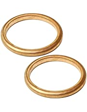 Caltric 2 Exhaust Pipe Gaskets Compatible With Honda Trx400Ex Trx400X Sportrax 400 2X4 1999-2013