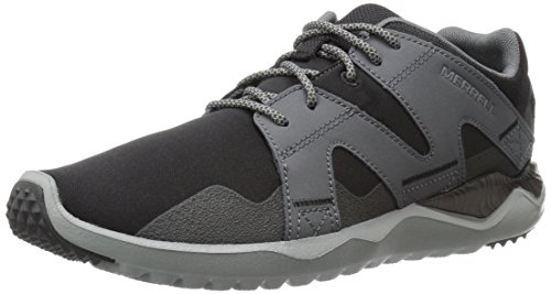 Merrell Men 1six8 Lace M Gymnastics Shoes Black, Black/Anthracite, 8 AU