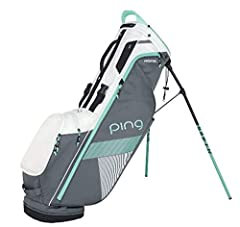 Like a caddy for your back, the PING Women's 2018 Hoofer Lite Stand Golf Bag is the perfect tool for your next walking round. Easy-adjusting shoulder pads use SensorCool Technology to wick away moisture, partnering with the strap connector to...