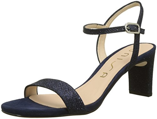 Unisa Women's Mabre_ev_ks Ankle Strap Sandals, Blue Blue (Ocean Ocean)