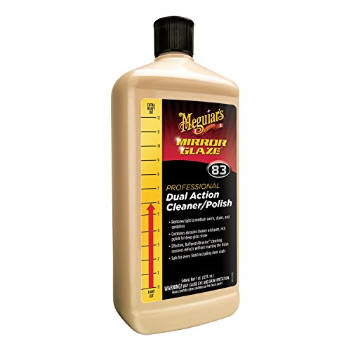 Meguiar's M83 Mirror Glaze Dual Action Cleaner Polish - 32 oz.