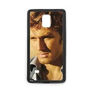 Alex Pettyfer funda Samsung Galaxy Note 4 caja funda del teléfono celular del teléfono celular negro cubierta de la caja funda EEECBCAAJ08512