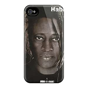 Best Hard Phone Case For Iphone 4/4s With Unique Design Attractive Papa Roach Pattern AlissaDubois