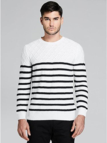 GUESS by Marciano Men's Blaze Striped Sweater