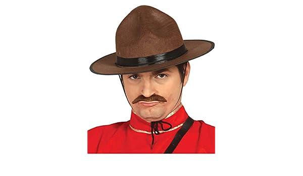 Horror-Shop sombrero de la policía canadiense  Amazon.es  Juguetes y juegos 23861afdc76