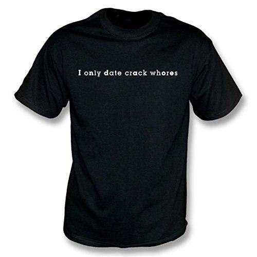 TshirtGrill Ich datiere nur Sprungsdirnen T-Shirt, Farbe- Schwarzes
