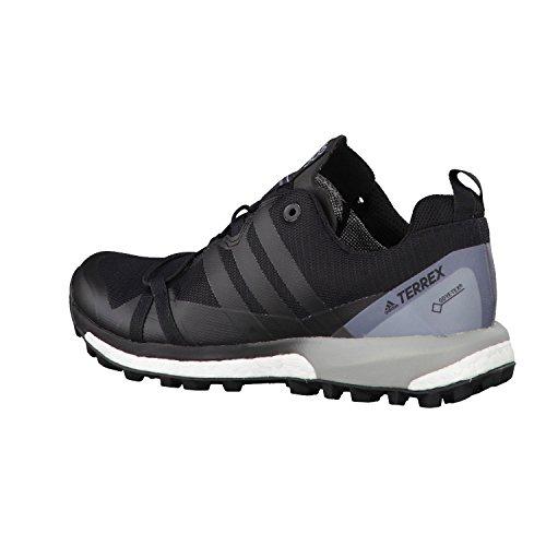 Adidas Terrex Agravic GTX W, Scarpe da Escursionismo Donna, Nero (Negbass/Ftwbla), 42 EU