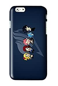Fairy Tail Chibi Snap on Plastic Case Cover Compatible with Apple iPhone 6 Plus 6+ by runtopwell