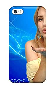 Premium Protection Emma Roberts?wallpaper Case Cover For Iphone 5/5s- Retail Packaging