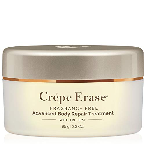 CrÃpe Erase Advanced - Advanced Body Repair Treatment with Trufirm Complex & 9 Super Hydrators - Fragrance Free - Introductory Size/3.3 Ounce