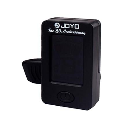 SUPVOX Clip cromático en el afinador electrónico de guitarra 360 grados giratorio mini sintonizador digital Capo