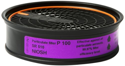 Sundstrom H02-1321 SR 510 P100/HE Particulate Filter by Sundström (Image #1)