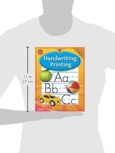Brighter Child® Handwriting: Printing (Brighter Child Workbooks ...