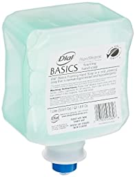 Dial 1324680 Basics Hypoallergenic Foaming Hand Lotion Soap, 1 Liter Refill (Pack of 6)