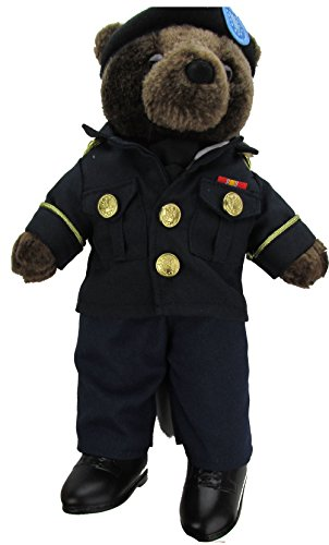 Stuffed Plush Teddy Bear in ASU - Army Service - Teddy America Bear