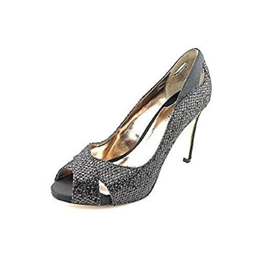 Alfani Lyrra Womens Peep Toe Pumps Heels Shoes black 9M yjGOU14M