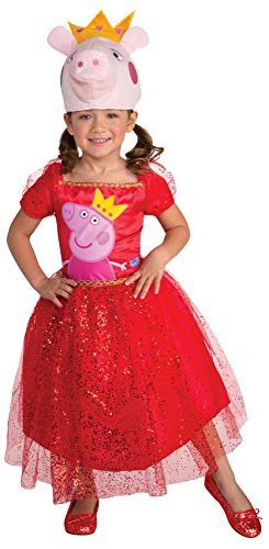 Girl's Peppa Pig Tutu Dress Outfit Funny Theme Toddler Halloween Costume, Toddler 2T]()