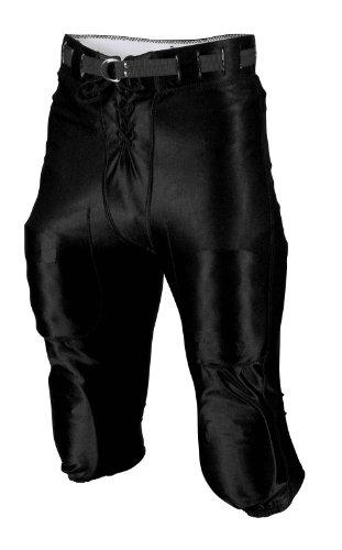 Rawlings Men's F4590 Football Pant (Black, X-Large)