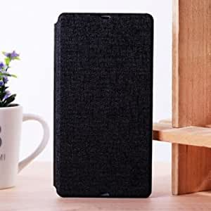 Flip-open TPU PC Leather Protective Case For MOPS L36H @ Color==Orange