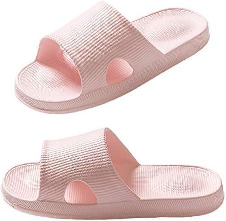 Finleoo Women and Men Bath Slipper Anti-Slip for Indoor Home House Sandal