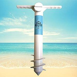 Beachr Ancla de Sombrilla para Sombrilla de Playa, Talla Única, Sostenedor de Sombrilla para Vientos Fuertes
