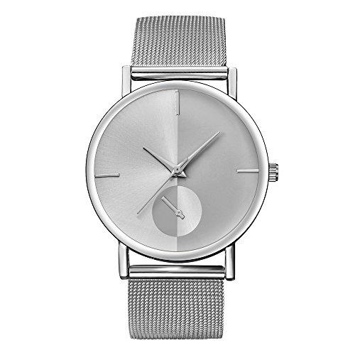 Relojes Hombre,ZODOF Reloj de Pulsera de Analógico de Cuarzo Relojs Elegante Impermeable Negocios Relojes para Unisex: Amazon.es: Ropa y accesorios