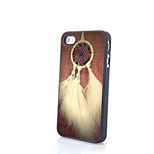 Generic Custom Dream Catcher Matte Case for iPhone 4/4S Hard Cover Shell PC Protector Slim and Thin