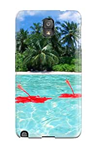 Kevin Charlie Albright's Shop Best Protective Case For Galaxy Note 3(maldives Holiday Beach)
