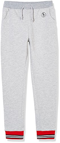 ro Sport Striped Pull On Fleece Jogger for Boys and Girls S Gray ()