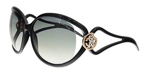 Roberto Cavalli Women's Grafias 893S 893/S 01B Black Fashion Sunglasses - Roberto Sunglasses Cavalli Women For