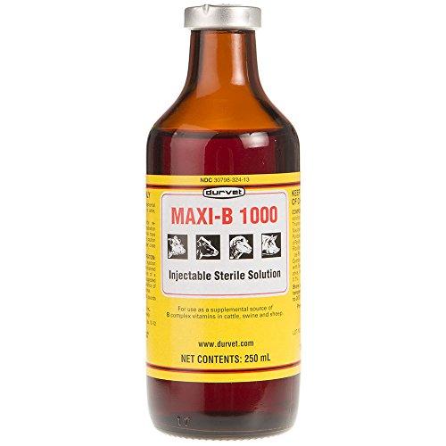 Durvet Vitamin Maxi B 1000 250 mL 250ML