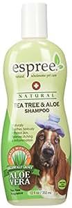 Espree Tea Tree & Aloe Dog Shampoo, 12-Ounce